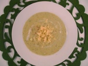 A delicious real food, gluten-free version of broccoli cheese soup- just perfect for the cooler days of Autumn and Winter!