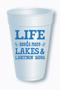$7.99 for a sleeve of 10 cups #lake #cups  Order at shop@jchristophertoys.com