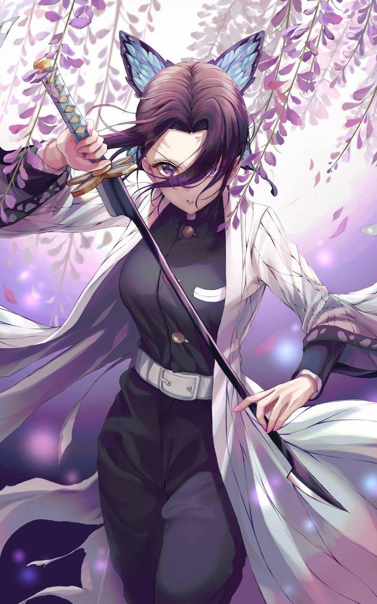 Shinobu Kochou Anime, Fanart, Desenhos