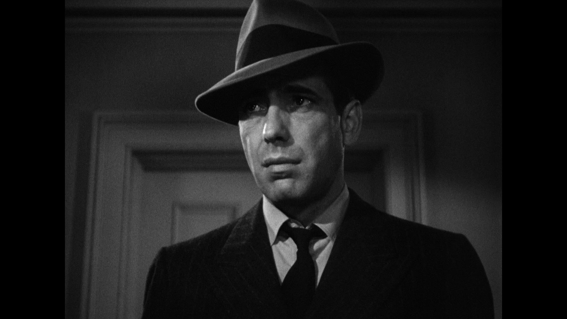 Humphrey Bogart In The Maltese Falcon Humphrey Bogart