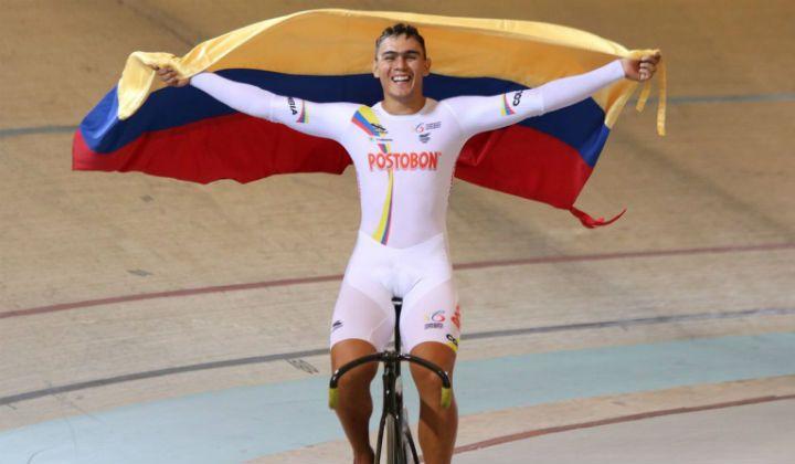 Panamericano de Pista de México Colombia Tricampeona. Fabián Puerta cerró con medalla de oro en prueba del Keirin - Revista Mundo Ciclistico