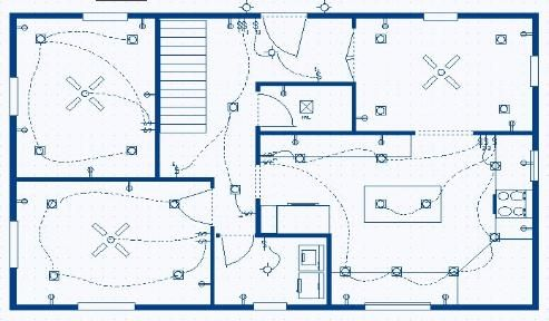 First Floor Lighting Plan And Diagram Recessed Lighting Layout Kitchen Recessed Lighting Bedroom Lighting