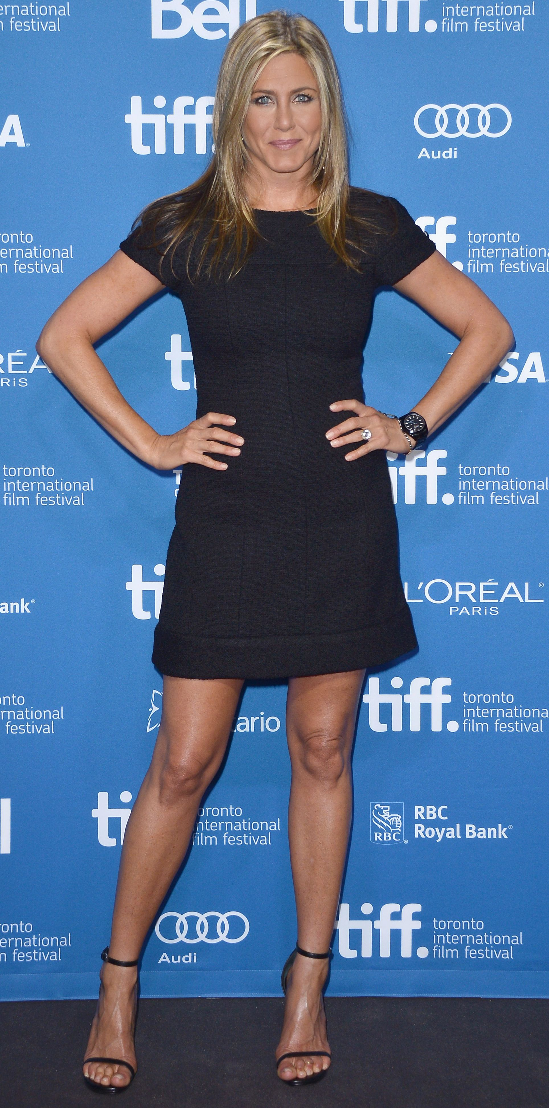 Jennifer Aniston's Red Carpet Style - In Chanel, 2013  - from InStyle.com