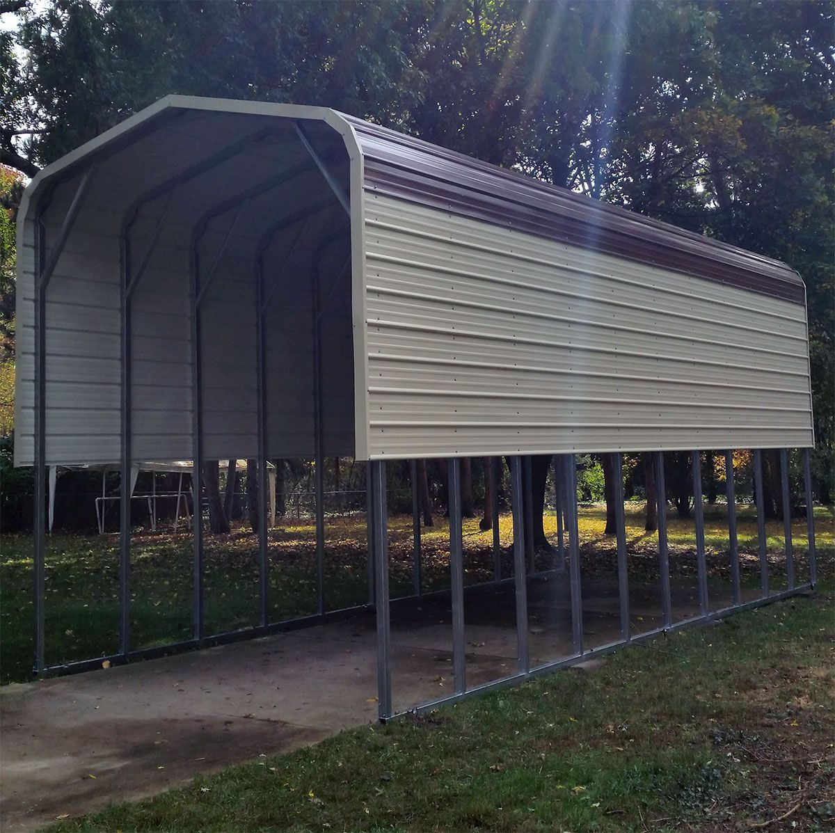 Shop Metal Carports Sheds And Garages Near Me Carport Metal Carports Portable Carport