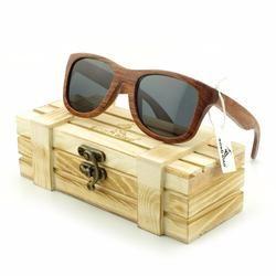 BOBO Red Wood Polarized Sunglasses