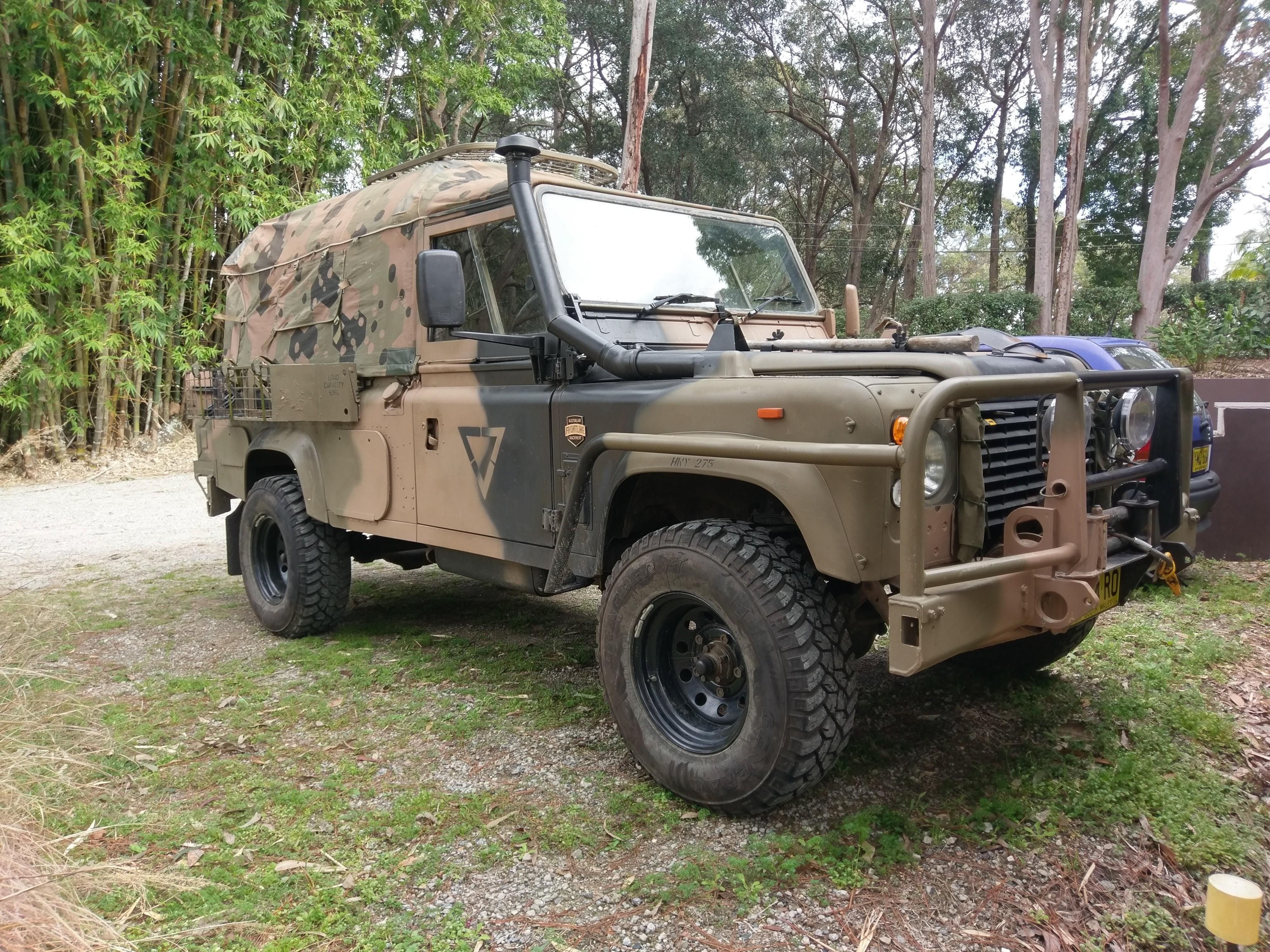 roof and defender with bumper land online a landrover centre pin parts by rack tembo rover nice fd from