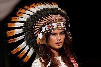 Designer Sorry For Using Native American Headdresses On Catwalk