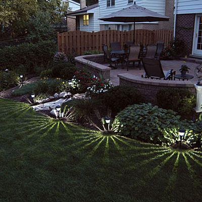 Patio Outdoor Solar Lighting Ideas