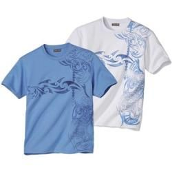 Photo of 2er-Pack T-Shirts Maori Tatoo Atlas For Men