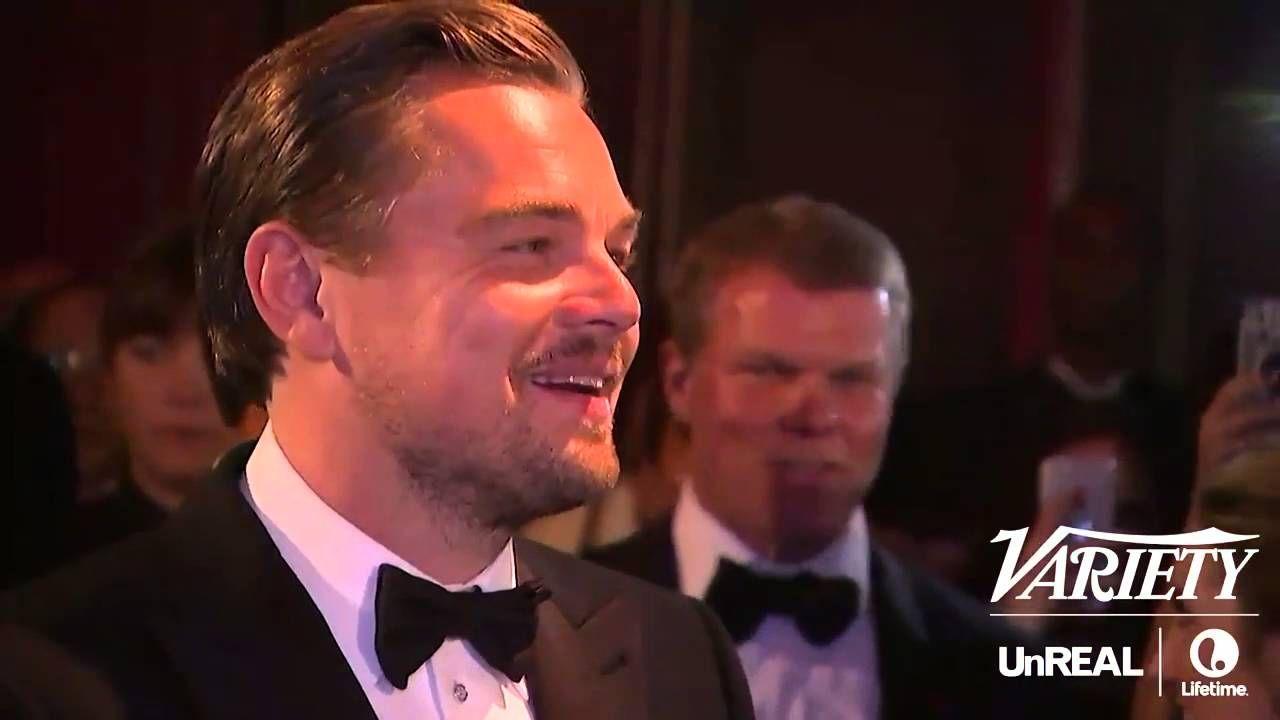 Graban Óscar con nombre de Leonardo DiCaprio como Mejor Actor