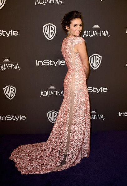 Nina Dobrev Photos - 2016 InStyle And Warner Bros. 73rd Annual Golden Globe Awards Post-Party - Arrivals - Zimbio