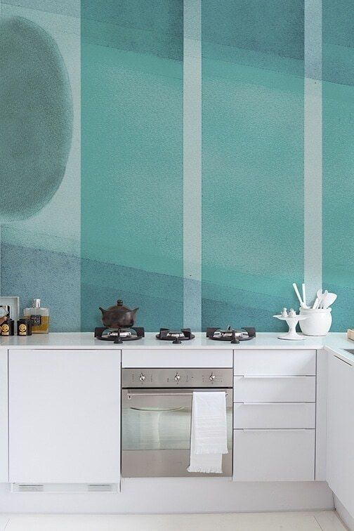 tile isn't your only backsplash option Wall wallpaper
