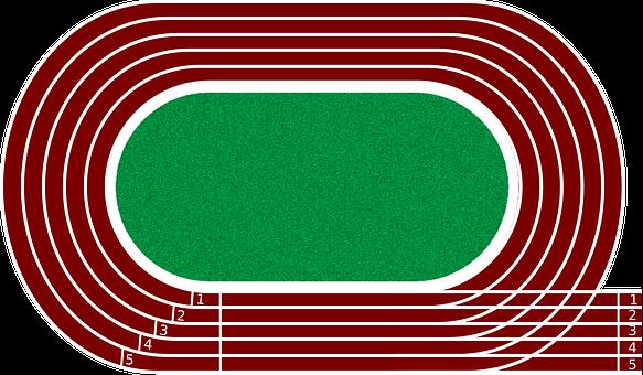 Pista De Atletismo Graficos Vectoriales Descarga Imagenes Gratis Pixabay Pista De Atletismo Atletismo Atletismo Velocidad