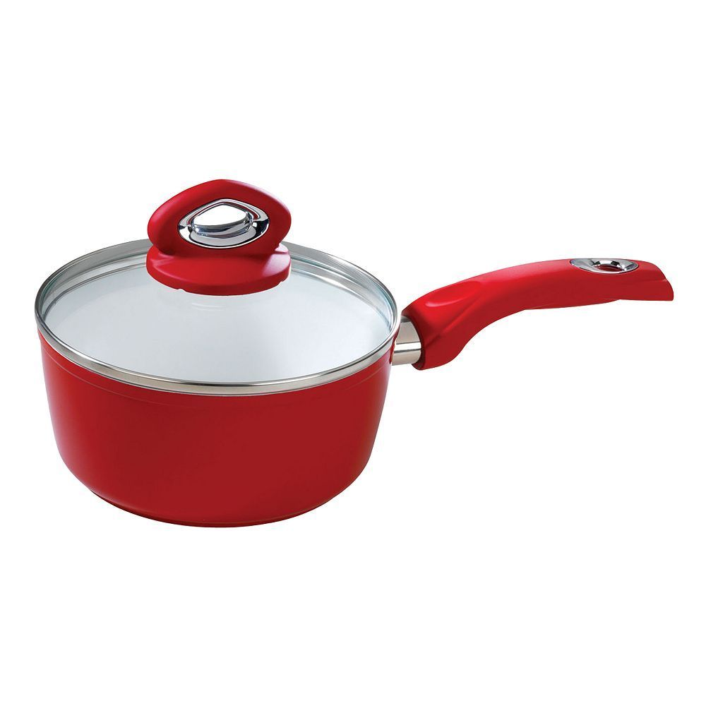 Bialetti Aeternum 2-qt. Ceramic Nonstick Covered Saucepan