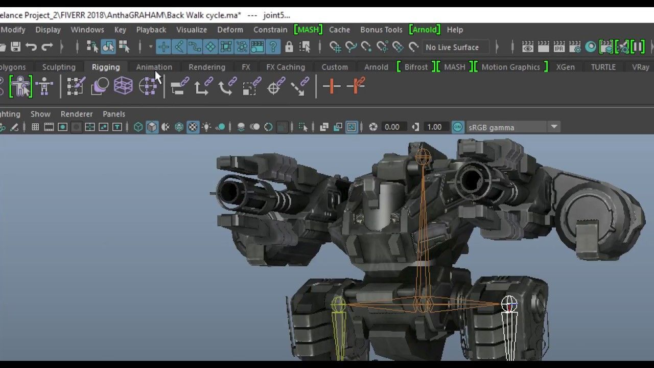 How to Export Animation from Maya and Import into UE4 | Soft
