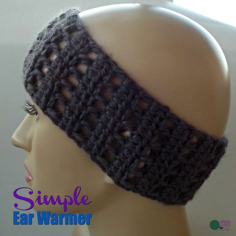 Simple Ear Warmer