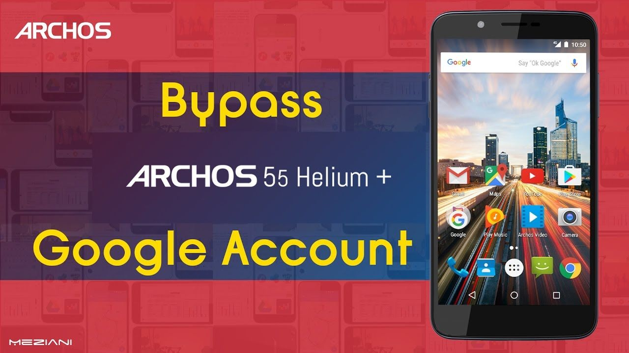 Bypass Google Account ARCHOS 55 Helium Plus Remove FRP | bypass