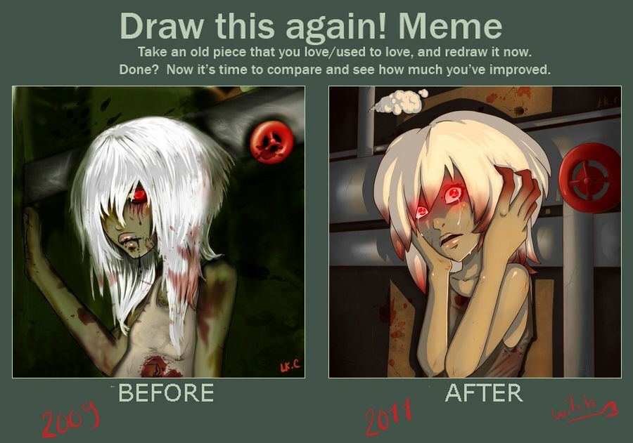 Draw This Again Meme By Luckyxclover On Deviantart Art Inspiration Draw Cool Art