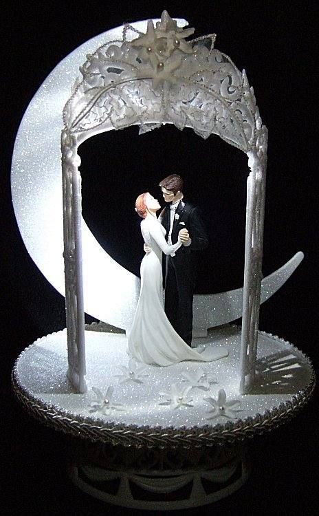 lighted wedding cake toppers twilight wedding cake topper amp edward lighted 16868