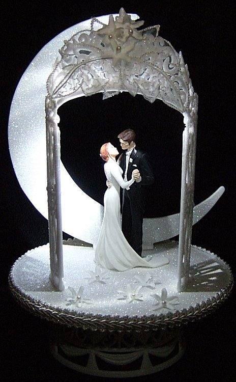TWILIGHT WEDDING CAKE TOPPER BELLA EDWARD LIGHTED VAMPIRE ebay