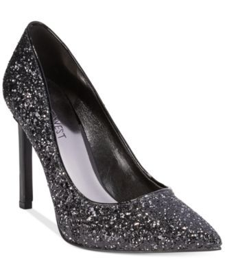 4fcde583ad Nine West Tatiana Glitter Pumps | Winter Wedding at Notre Dame ...