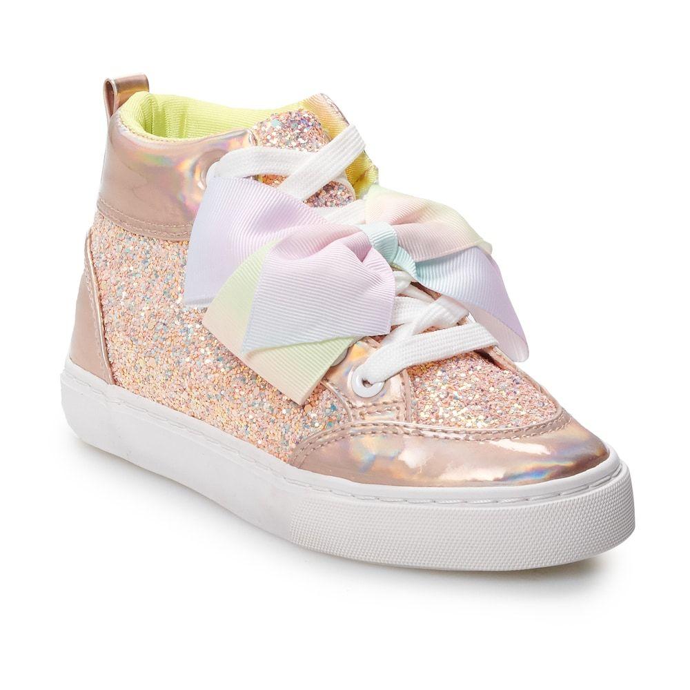 JoJo Siwa Glitter Girls' High Top Shoes