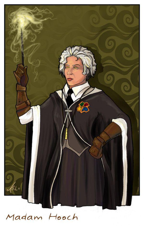 Madam Hooch Harry Potter Fantastic Beasts Harry Potter Day Hooch