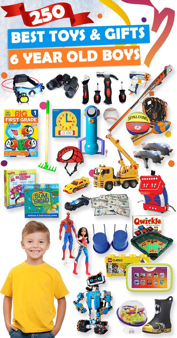Tons Of Great Gift Ideas For 6 Year Old Boys