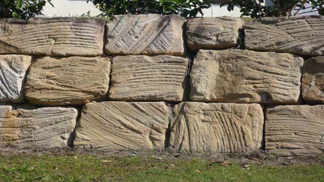 Rock Sandstone Retaining Wall Gallery Retaining Wall Sandstone Wall Sandstone