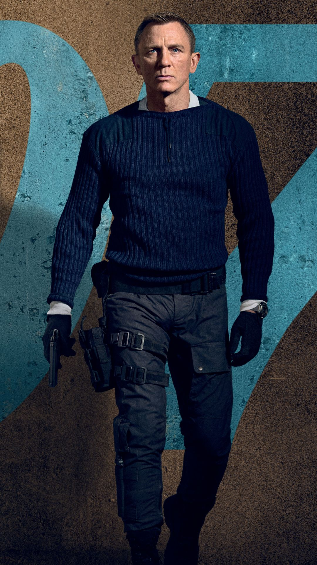 No Time To Die Daniel Craig mobile wallpaper in 2020