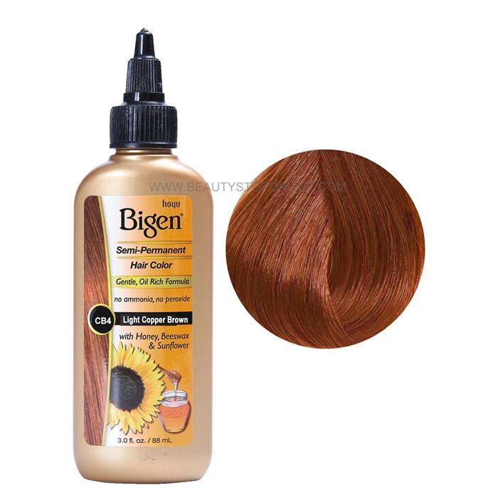 Bigen Semi Permanent Hair Color Co4 Light Cognac Hair Color