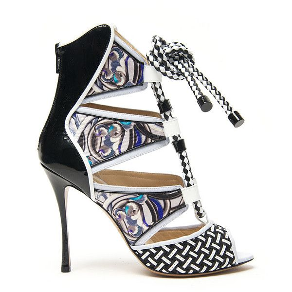 Peter Pilotto x Nicholas Kirkwood Floral Slingback Sandals discount outlet locations new arrival for sale eWfi9