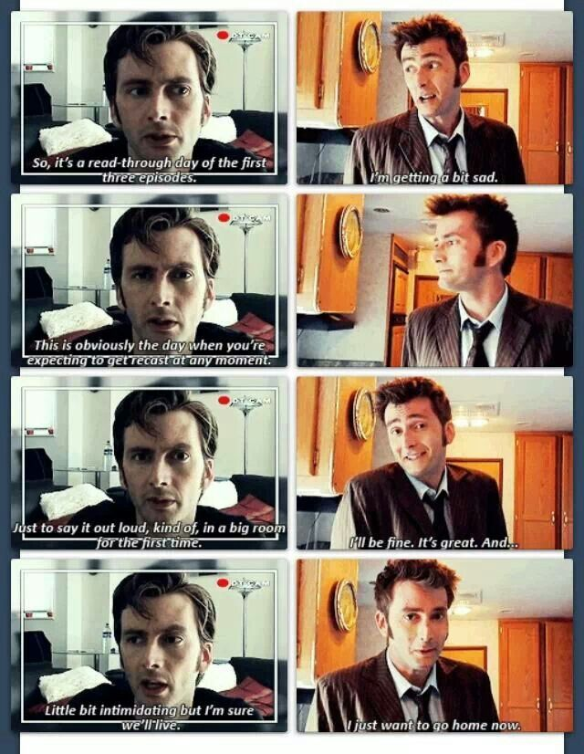 David S First And Last Day On Set Doctor Who David Tennant