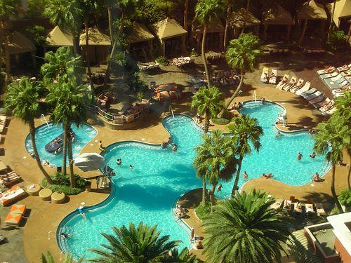 Funnest Job Treasure Island Las Vegas Pool Kristan Love