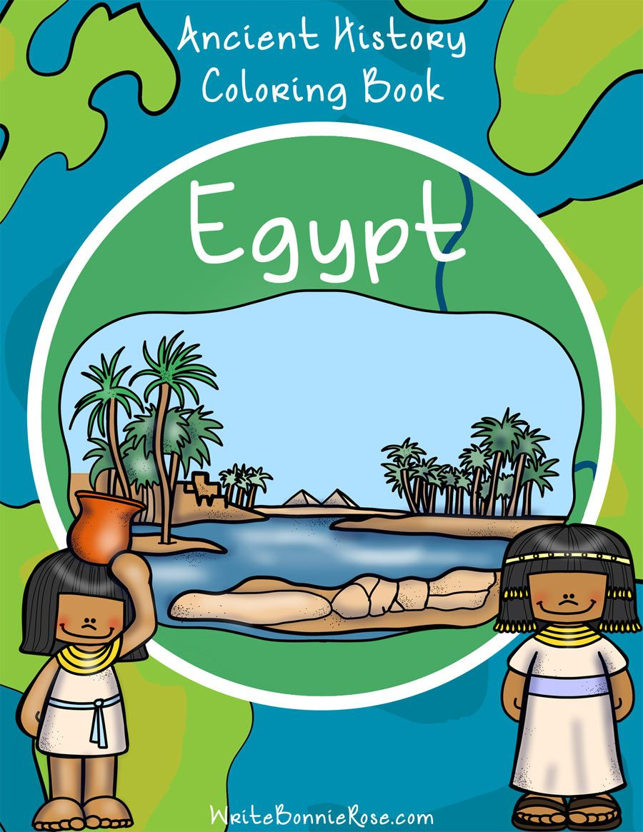 Ancient History Coloring Book: Egypt-Level B   Year 1 Term 1 ...