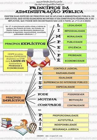 Resultado de imagem para principios direito administrativo