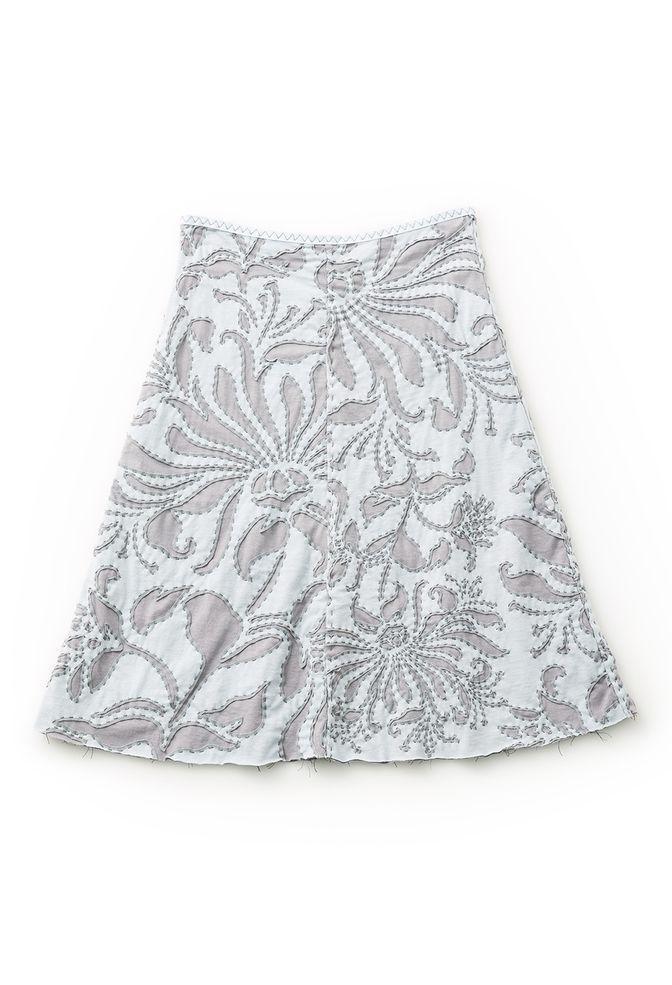 Swing Skirt Pattern | ALABAMA CHANIN | Pinterest | Apliques, Bordado ...