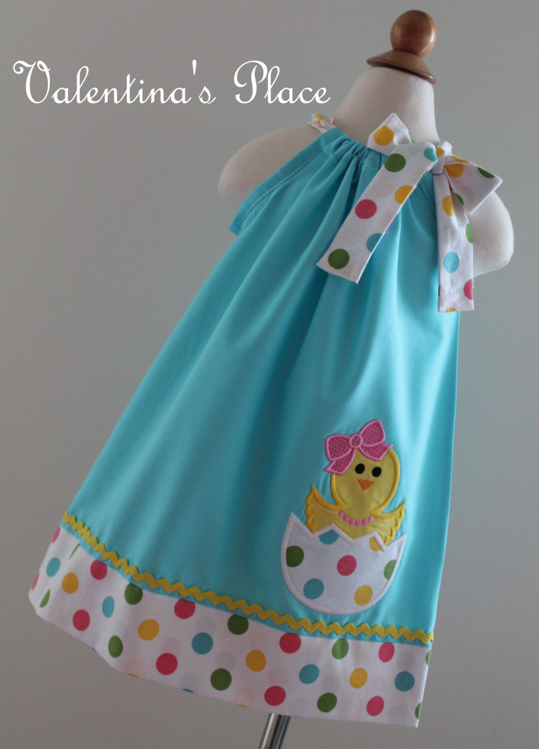 Adorable Easter Chick In Egg Pillowcase Dress Sew