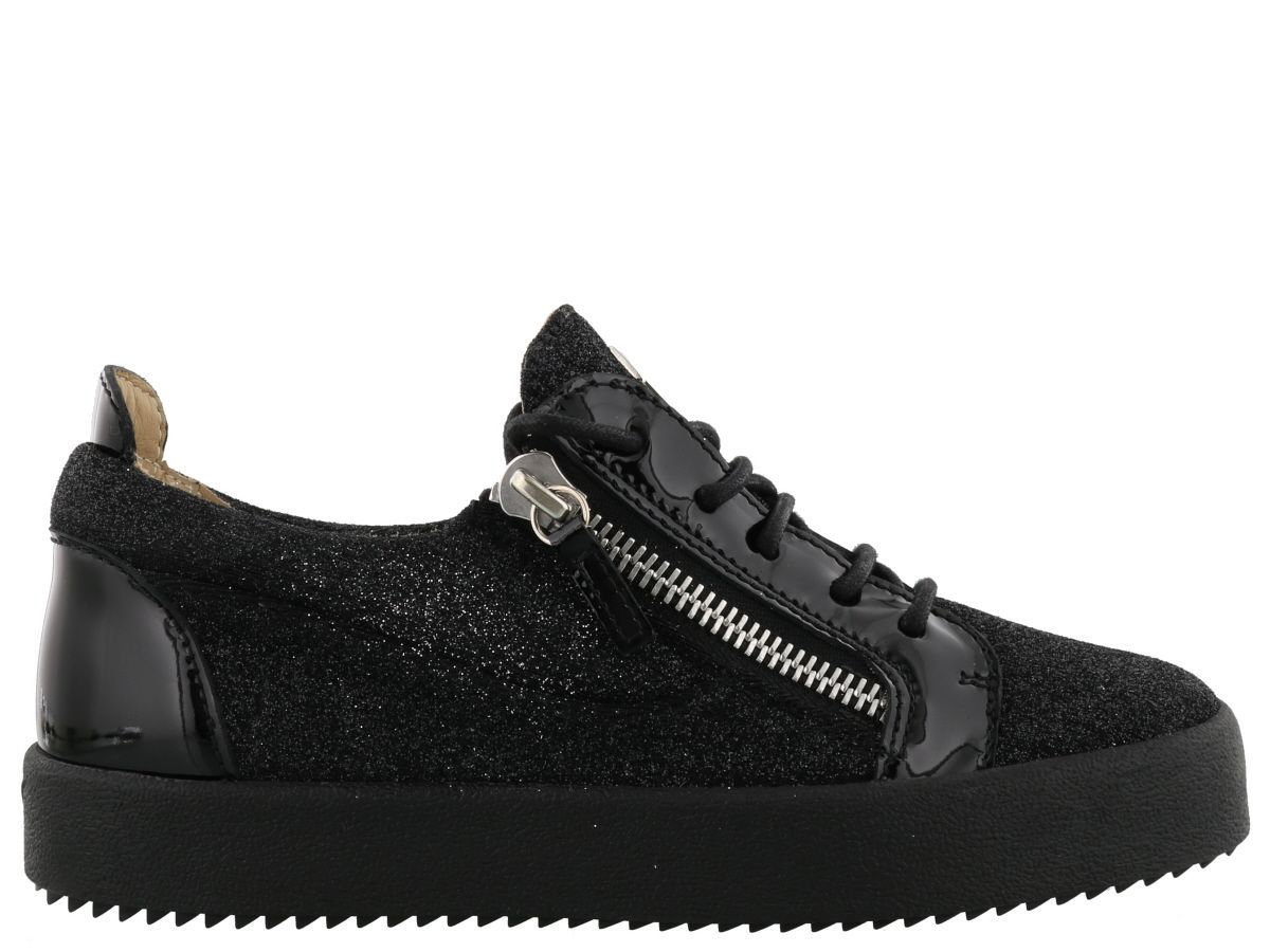 Gail velvet sneakers - Black Giuseppe Zanotti QINWPLwJ