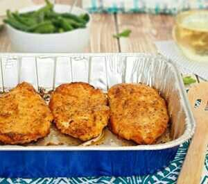 Oven-Baked Fried Chicken