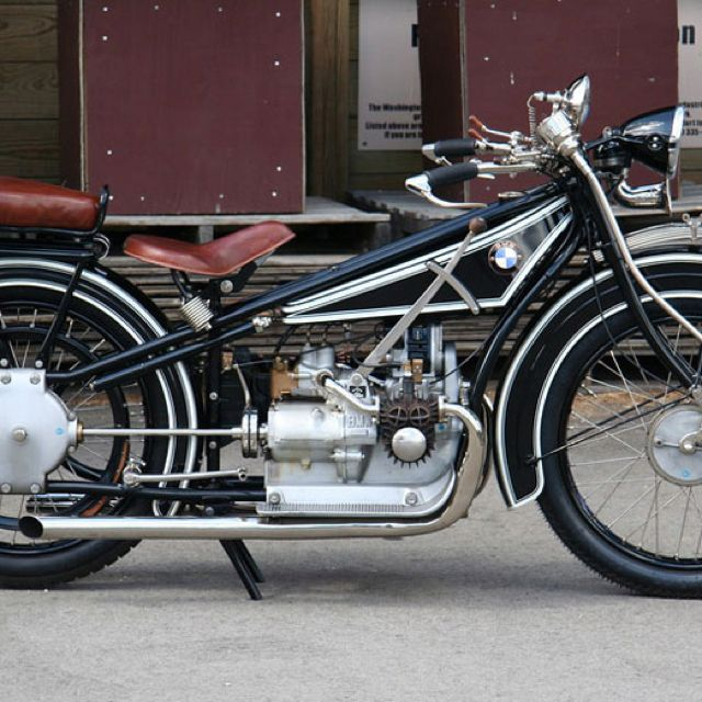 First BMW motorcycle 1923
