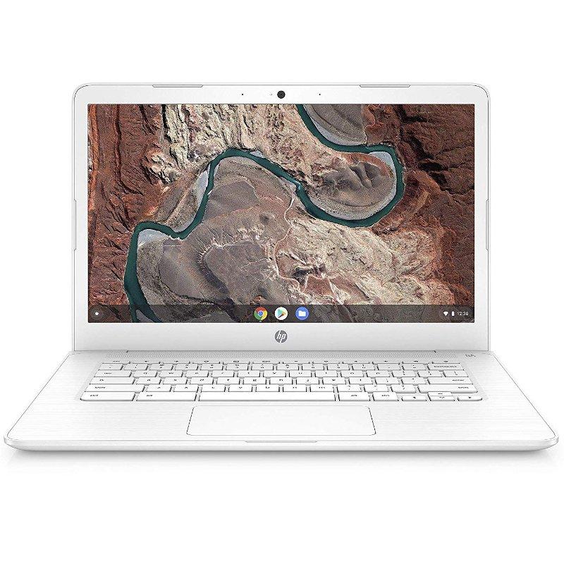HP 14-Inch Chromebook 4GB RAM, 32GB eMMC, A4 - White