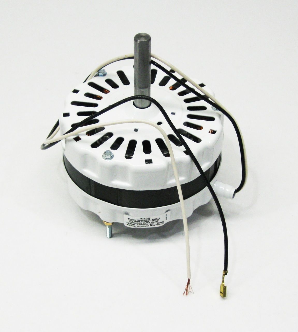 Attic Fan Motor Ventilator For Broan 97009317 99080267 White 5 Diameter Attic Fan Broan Fan Motor