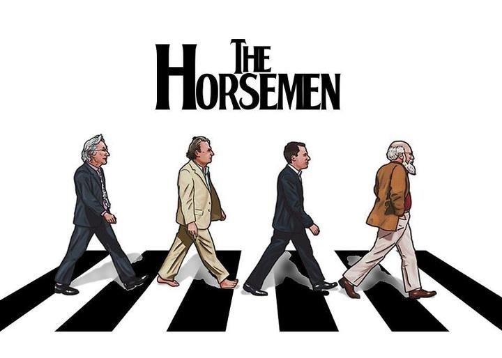Resultado de imagen para four horsemen of atheism