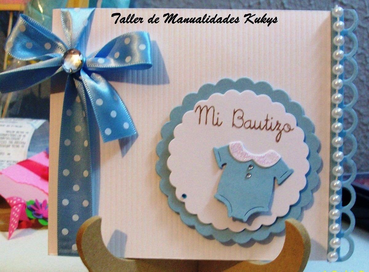 Invitaciones Para Bautizo 3 Años Y Cumpleaños
