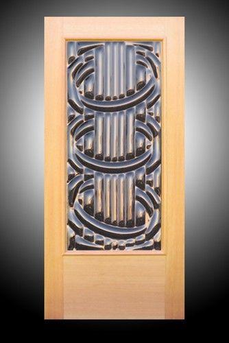 Accord Sculptural Art Gl Entry Door Eclectic Front Doors Seattle Inc
