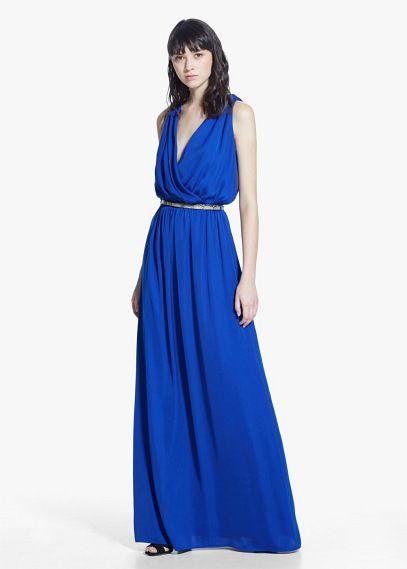 Long flowy gown | MANGO