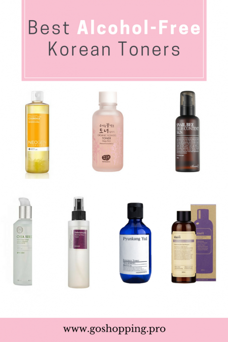 Top 7 Alcohol Free Korean Toners For Fragile And Sensitive Skin Sensitive Skin Care Korean Toner Best Alcohol
