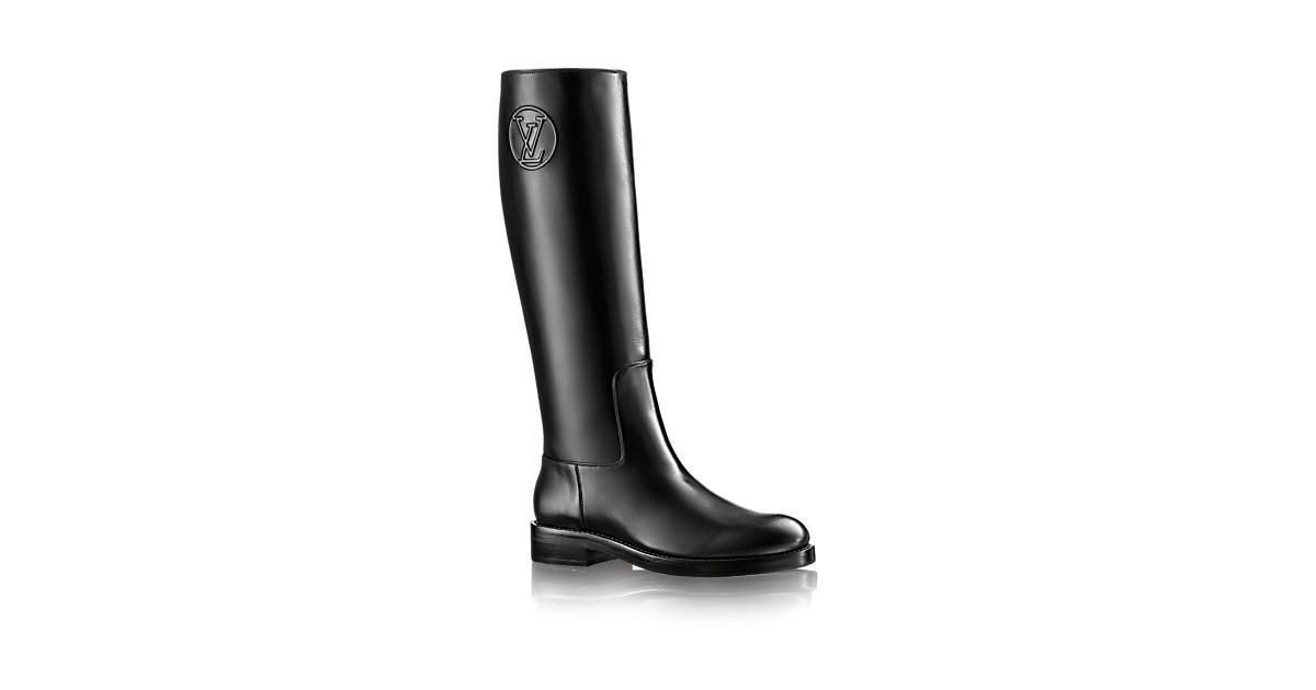 Overdrive High Boot - Shoes   LOUIS VUITTON   Louis Vuitton 6c779603264