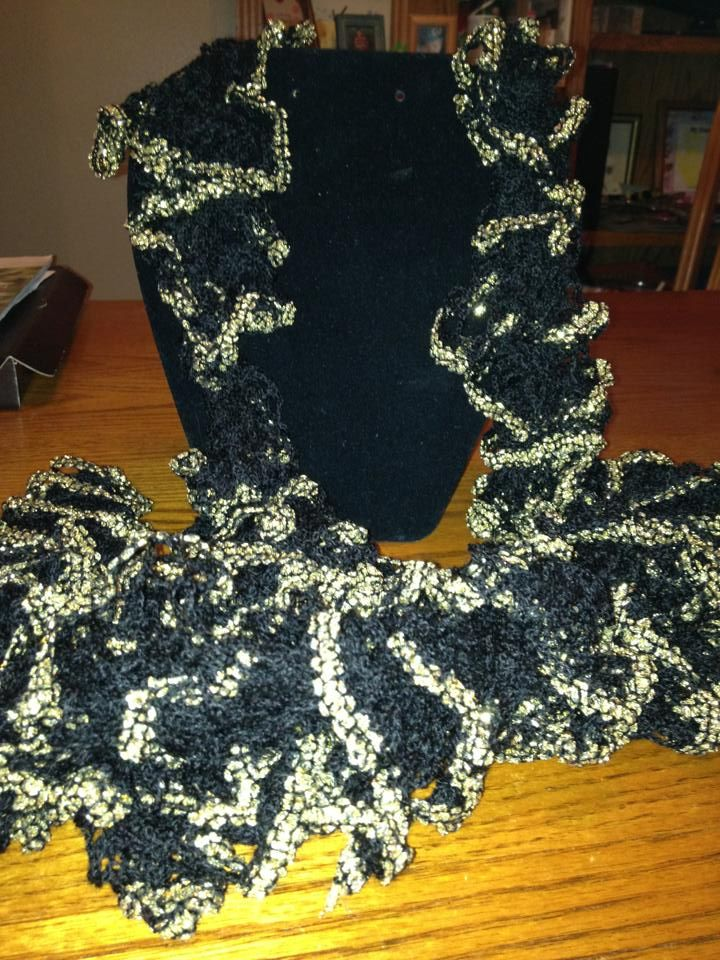 Starbella Flash: Black and Gold | Sensational Scarfs | Pinterest